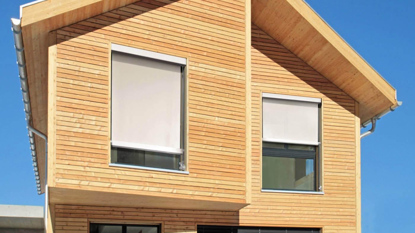 toldo cofre vertical front box cable o varilla con instalacion en ventana