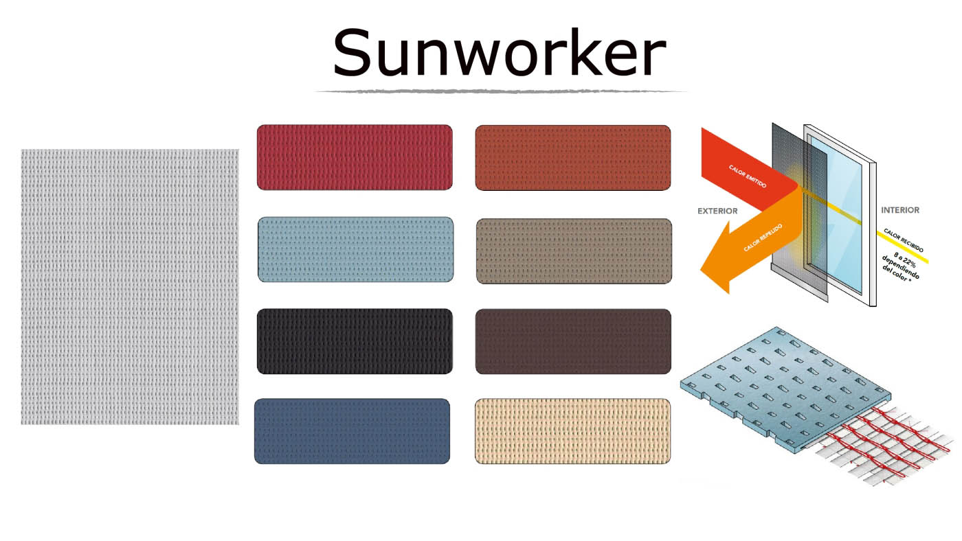 lona microperforada sunworker